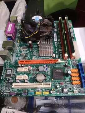 Combo Board Elite G41 + Intel Xeon + 4GB RAM (leer bien descripción)