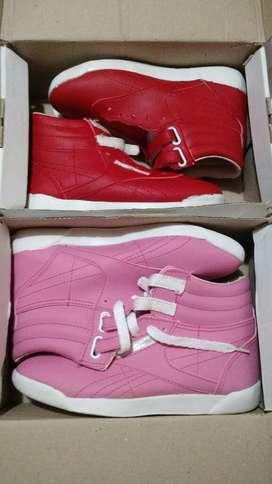 Zapatillas Rojas 31, Rosas 33 Nuevas