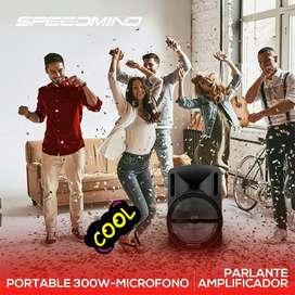 Parlante Amplificado portables cod 556787 speedmind