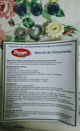 vendo filtro purificador DRAGO + accesorios