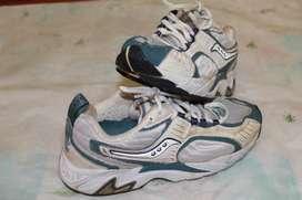 zapatillas saucony usadas
