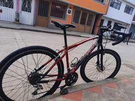 Bicicleta  semi