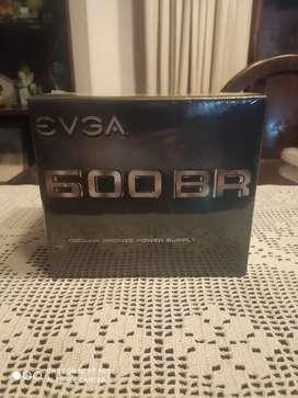 Fuente nueva en caja cerrada y sellada EVGA 600w 80 plus bronze (zona oeste Ituzaingó)