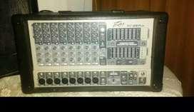 Mixer amplificador de 8 canales