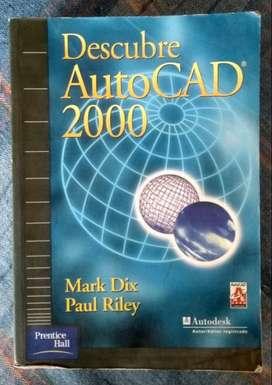 Libro Descubre Autocad 2000 Mark Dix Paul Riley Prentice Hall PRECIO NEGOCIABLE