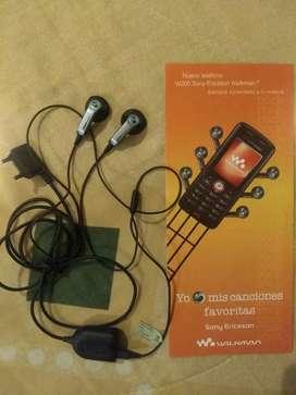 Audífonos Sony Ericsson originales para coleccionistas