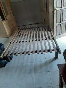 Cama+colchón 2 plazas