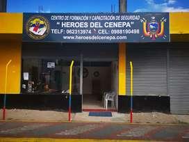 Cursos de guardia de seguridad, Reentrenamiento nivel 1 y 2, curso supervisores, operadores de consola escoltas