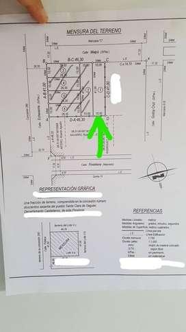 HERMOSO LOTE EN SANTA CLARA DE SAGUIER