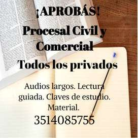 UCC UNC Procesal Civil y Comercial