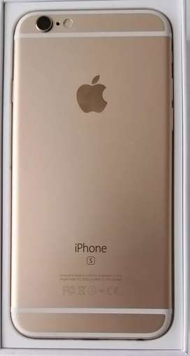 IPhone 6S Dorado-- 16Gb memoria.