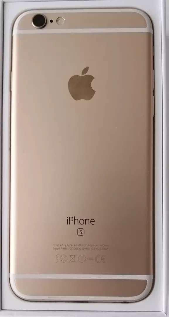 IPhone 6S Dorado-- 16Gb memoria. 0