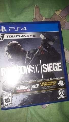 Vendo o cambio RAINBOX SIX SIEGE y play plus