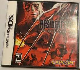 Resident Evil Deadly Silence Nintendo 3D