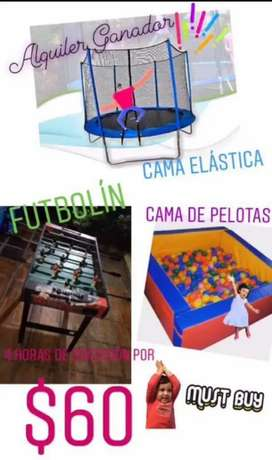 Alquiler para fiestas infantiles