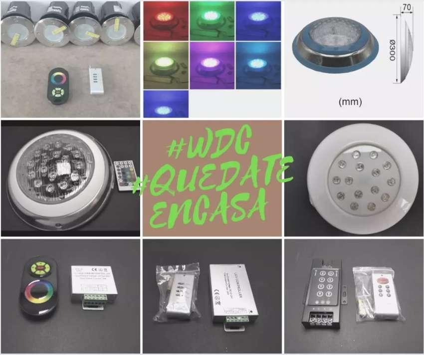 Lámparas LED piscinas