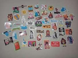 Stickers Laptop Motos Cuadernos