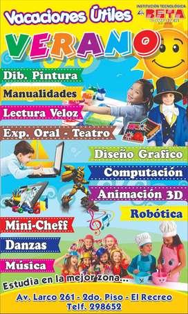 Clases de Dibujo y Pintura, Danzas, Manualidades, Teatro y más...