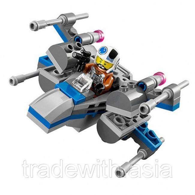 Juguete para armar tipo Lego Resistance X-Wing 0