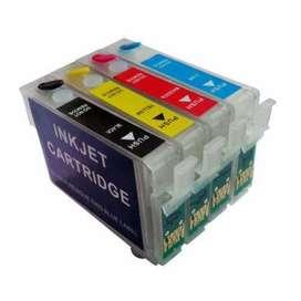 Vendo 2 IMPRESORAS TX125 y 1 TX135  cartuchos recargables tintas AQX-Tech