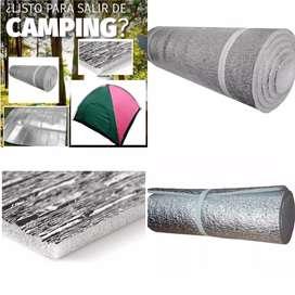 Estera Camping Con Aislante Termico