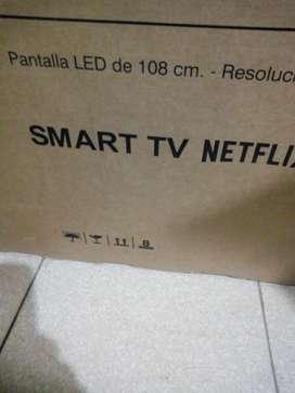 Smartv 43 para cambio de pantalla
