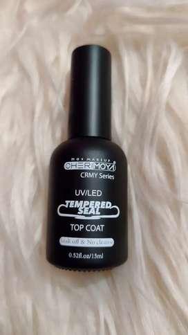 Top coat uv/led cherimoya efecto vidrio templado
