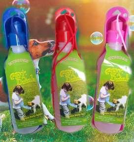Botellas bebedero mascota
