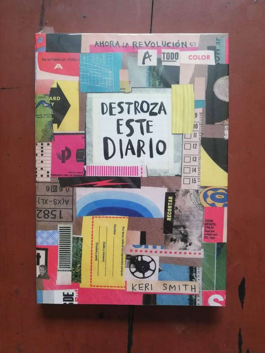Libro Destroza Este Diario Keri Smith