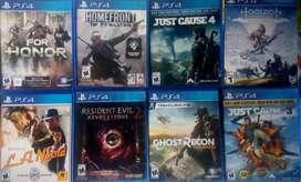 Vendo video juegos