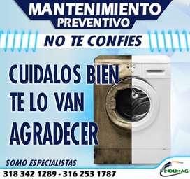 Reparación de neveras, estufas, lavadoras