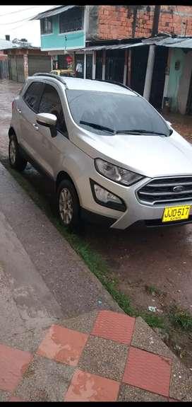 Vendo camioneta Ford Ecosport 2019
