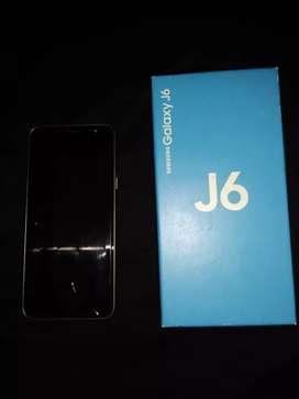 Samsung J6 dorado