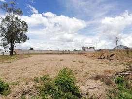 Venta de lote de 960m2 de terreno en Atuntaqui