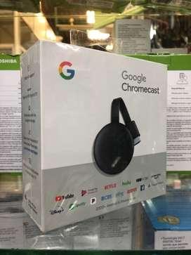 Google Chromecast tercera generación Originales. Sellados. NUEVOS!!!