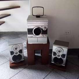 Equipo de sonido Samsung mp3
