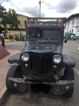vendo camioneta jeep wyllis