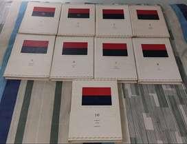 VENDO x 60MIL 9 TOMOS DEL DICCIONARIO DE LA LENGUA ESPAÑOLA DE LA REAL ACADEMIA ESPAÑOLA EDICIÓN 22, 2001.