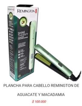 Plancha para de cabello pelo remington de aguacate planchar