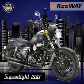 MOTO KEEWAY SUPERLIGHT 200 - FINANCIADA