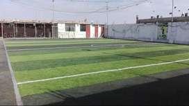 Cancha de grass sintético usado