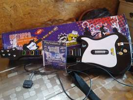 Guitarra para playstation 2
