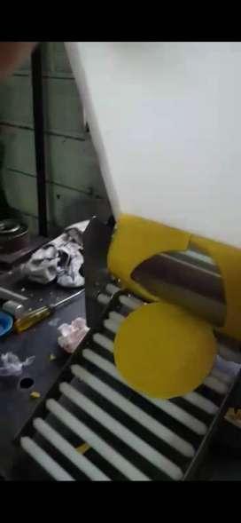 Máquina para la fabricación de arepas