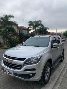 Chevrolet trailblazer 4x4 año 2018 con 35.000 km de recorrido