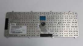 Teclado Hp Dv5-1000 series plateado nuevo