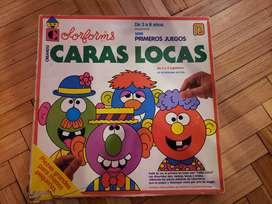 Juego De Mesa Creando Caras Locas Colorforms Para Chicos