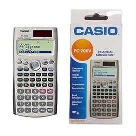 Calculadora financiera CASIO 200v