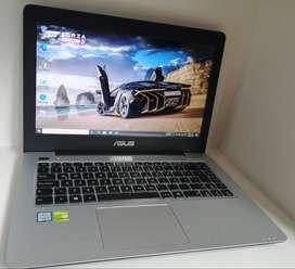 Asus i5 6Th Gen 2.30GHz Nvidia GEFORCE 930M  Asus i5 - 6200U CPU 2.30GHz 2.40GHz