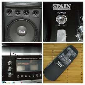 componente de sonido  SPAIN