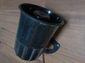 Sirena de alarma 12v 15wats 1 tono